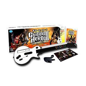 任天堂Wii ギターヒーロー3 レジェンド オブ ロック(ギターヒーロー専用コントローラ同梱) - 拡大画像