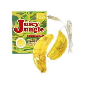 フルーツ型マッサージャー ジューシージャングル バナナ - 拡大画像