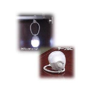 ELPA 乾電池式 LEDセンサー付ライト PM-L210(W) - 拡大画像