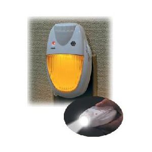 ELPA 充電式 LEDセンサー付ライト+懐中電灯 TDH-300 - 拡大画像