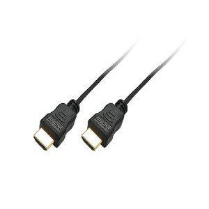 ミヨシ(MCO) HDMIスリムケーブル19ピン-19ピン 1.5m HDMI-HS15/BK - 拡大画像