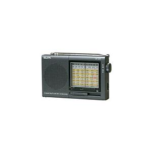 ELPA AM/FM/短波ラジオ ER-20T-N - 拡大画像