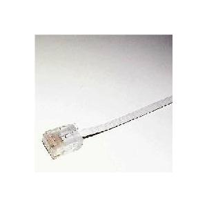 ミヨシ(MCO) フラットLANケーブル(カテゴリー6準拠) 2m TWF-602W