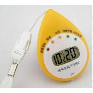【日本気象協会監修シリーズ】帯型風邪指標計 6974 4個セット - 拡大画像