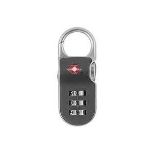 【防犯グッズ:旅行用】YALE(エール) 旅行用TSAロック(CLIP ON LOCK)グレー - 旅行グッズ特集