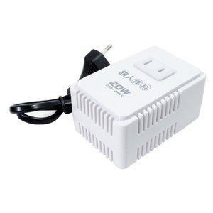 ミヨシ(MCO) 海外旅行用変圧器  230V地域対応 20W  MBT-2320/2 - 拡大画像