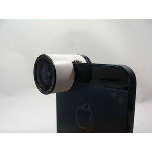ルーメン iPhone5/5s専用3in1レンズ ホワイト LM-FMW - 拡大画像
