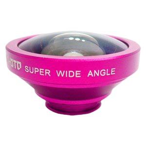 ルーメン クリップ固定式広角0.4倍レンズ ローズレッド LM-SMSWIDE-RRD - 拡大画像