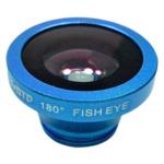 ルーメン クリップ固定式画角180°魚眼レンズ スカイブルー LM-SMFISH-SB