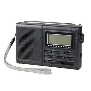 ELPA AM/FM/短波ラジオ 液晶表示 ER-C55T - 拡大画像