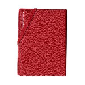 コンサイス スキミングブロック パスポートカバー皮革調R レッド CO-293156 【3個セット】 - 拡大画像