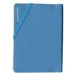 コンサイス スキミングブロック パスポートカバー皮革調R ライトブルー CO-293149 【3個セット】
