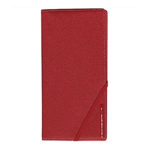 コンサイス スキミングブロック パスポートケース皮革調R レッド CO-293255 【2個セット】 - 拡大画像