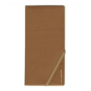 コンサイス スキミングブロック パスポートケース皮革調R キャメル CO-293231 【2個セット】 - 拡大画像