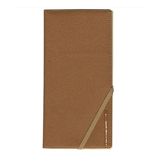 コンサイス スキミングブロック パスポートケース皮革調R キャメル CO-293231 【2個セット】