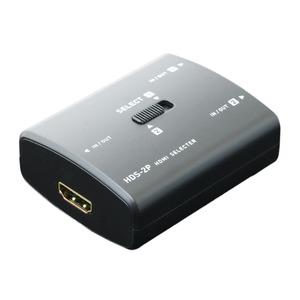 ミヨシ 2入力1出力 / 1入力2出力 対応 双方向HDMI切替器 HDS-2P - 拡大画像