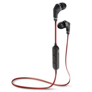 PGA Bluetooth 4.1搭載 ワイヤレス ステレオ イヤホン レッド&ブラック PG-BTE1S05 - 拡大画像