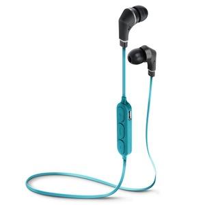 PGA Bluetooth 4.1搭載 ワイヤレス ステレオ イヤホン ブルー&ブラック PG-BTE1S06 - 拡大画像