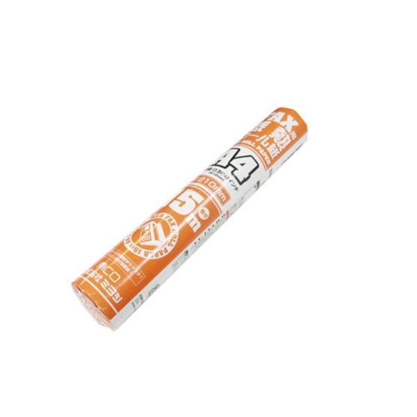 ミヨシ(MCO) FAX用感熱ロール紙(A4サイズ/0.5インチ) 15m巻き FXR15AH-1-24P【24本セット】