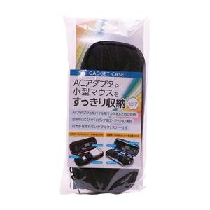 ミヨシ ガジェットケースSサイズ ブラック BAG-GE03/BK