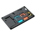 ミヨシ(MCO) SIMカードホルダー SIMカード変換アダプタ付 ブラック SCM-SI01/BK