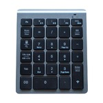 ミヨシ(MCO) Bluetooth接続ワイヤレステンキー メタリックグレー TENBT01/MG