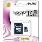 LAZOS 16GBマイクロSDHCカード 20枚セット L-16MS10-U1-20P