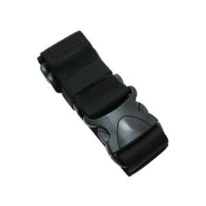 ワンタッチスーツケースベルト ブラック MBZ-SBL01/BK - 拡大画像