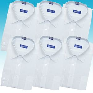 超お得ワイシャツ、スウェット14点ホワイトセット LL - 拡大画像