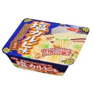 【ケース販売】 サンヨー食品 サッポロ一番 塩カルビ味焼そば レギュラー 111g 36個セット まとめ買い - 拡大画像