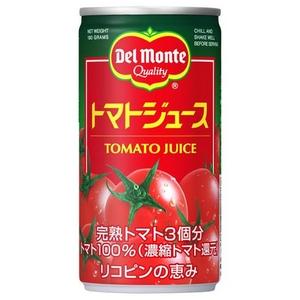 デルモンテトマトジュース 190g 60本セット - 拡大画像