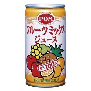 えひめ飲料 ポン フルーツミックスジュース 190g 60本セット - 拡大画像