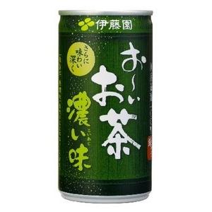 伊藤園 おーいお茶濃い味 190g 60本セット - 拡大画像
