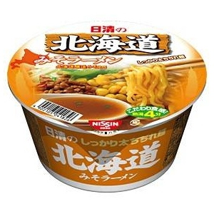 日清食品 日清の北海道みそラーメン 36個セット - 拡大画像