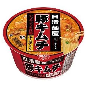 日清食品 日清麺屋 豚キムチ 36個セット - 拡大画像
