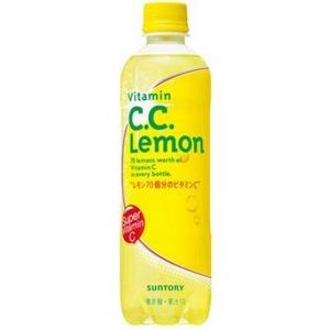 【ケース販売】 サントリー SUNTORY CCレモン 500ml 48本セット まとめ買い - 拡大画像