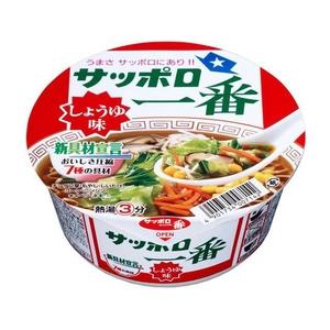 サンヨー食品 サッポロ一番 しょうゆ味どんぶり 80g 36個セット - 拡大画像