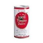 【ケース販売】 富永貿易 トマトジュース 190g 60本セット まとめ買い