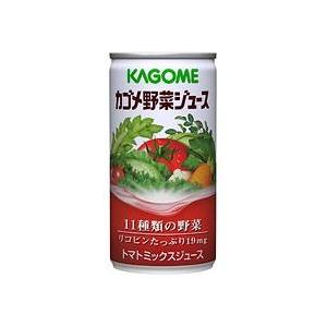 カゴメ野菜ジュース 190g缶 60缶セット - 拡大画像