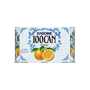 カゴメ 100CAN オレンジ 160g缶 60本セット - 拡大画像