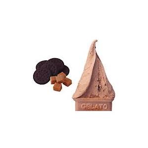業務用アイス キャラメルクッキー&ベルギーチョコレートセット (2L×2 計4L) - 拡大画像