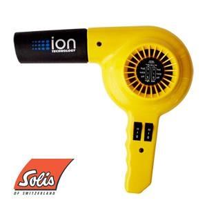 Solis(ソリス) ハンドドライヤー イオンテクノロジー 315 イエロー 【業務用】 - 拡大画像