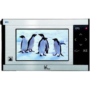 地上デジタル ワンセグ TV WO-T100 【FM/AMラジオ付】 - 拡大画像