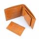 イタリア・キャピタルレザー使用! オールヌメ革ショートウォレット ライトブラウン - 縮小画像2