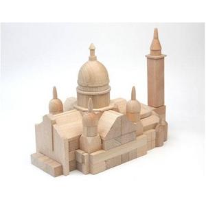 組木 モンマルトル サクレ・クール寺院 - 拡大画像