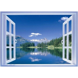 おふろの窓ポスター 3点セット - 拡大画像