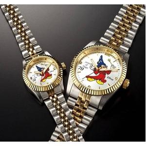 ミッキーダイヤモンドファンタジア 腕時計【レディース ホワイト】 - 拡大画像