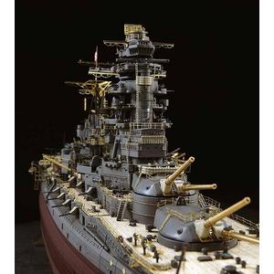 プラモデルセット 1/350 日本海軍戦艦 長門 レイテ沖海戦ディテールアップパーツセット - 拡大画像