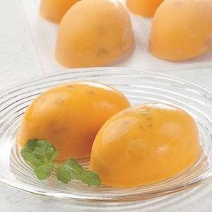 完熟マンゴー果肉をタップリ♪マンゴープリン32個 - 拡大画像