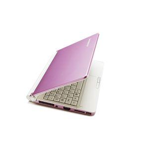 lenovo ノートパソコン IdeaPad S10e ピンク - 拡大画像